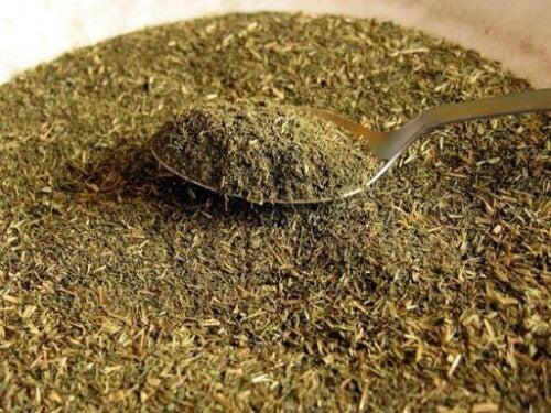 getrocknete Stevia