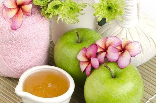 Apfel für die Schoenheit