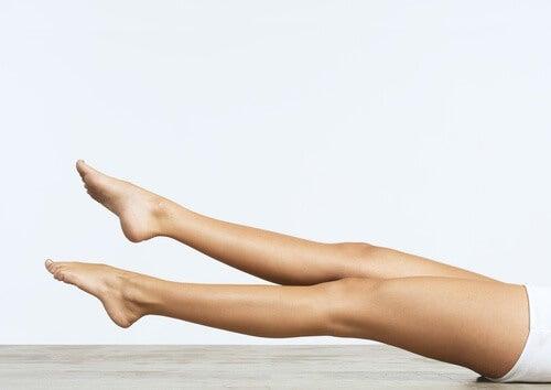 Beine Übung