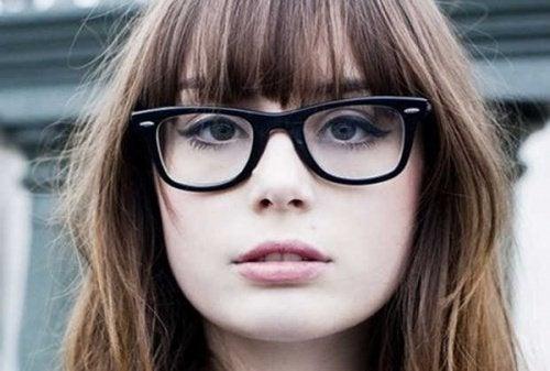 Brille für Augen