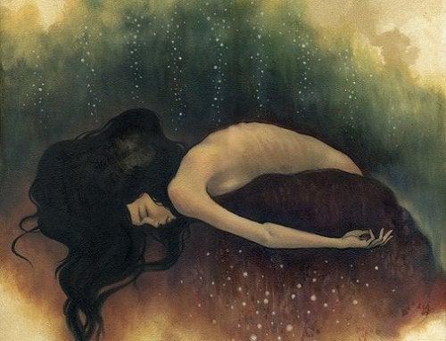 Dysthymie oder die Melancholie, die dich gefangen nimmt