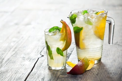 Erfrischender Saft wenn du kein Wasser magst