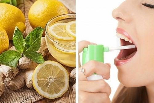 Heilsames Spray gegen Halsweh selber machen