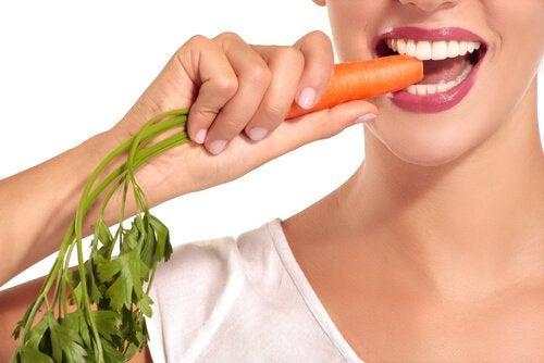 Hautgesundheit durch Karotten