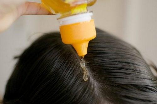 Honig für die Haare!