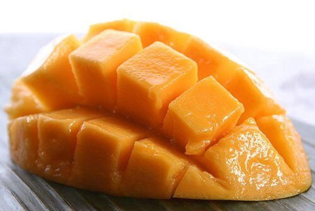 Die Mango wird verwendet, um Gewicht zu verlieren