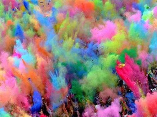 Welche Farben nehmen die Augen wahr