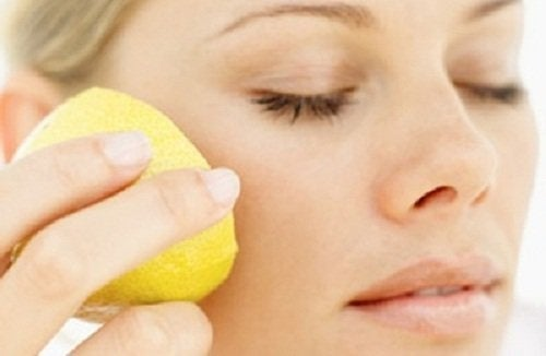 Zitronenmaske