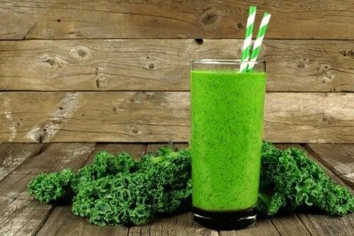gegen Magengeschwüre helfen - Grünkohl