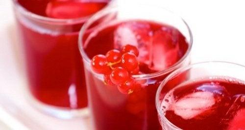 Beeren für köstliche Mixgetränke