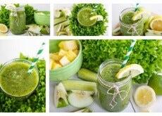 Beruhigungsshake-aus-Ananas-Minze-Apfel-und-Zitrone