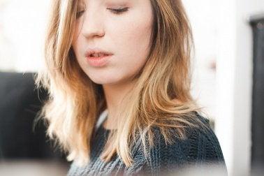 Essig gegen trockene Haare