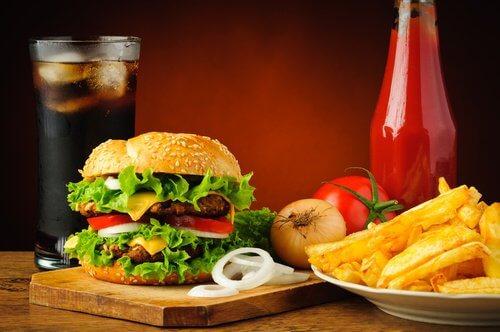 Fastfood ist nie gesund