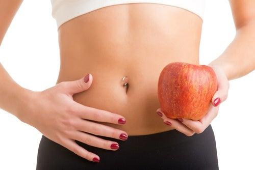 Gesunder Bauch durch Apfelschale