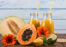 Heilsaft_mit_Papaya