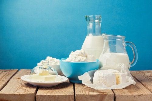 Milchprodukte für mehr Energie