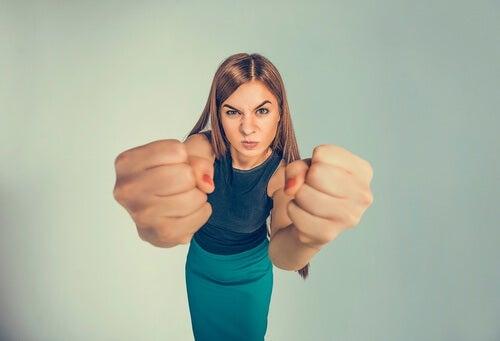 Wut durch Kritik