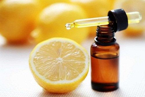 Zitronenschale als natürlicher Duftspender