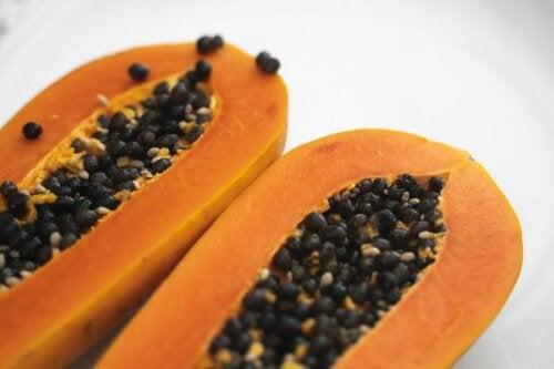 gegen rissige Fersen - Papaya
