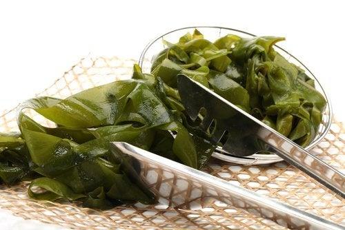 Algen für die Schilddrüse