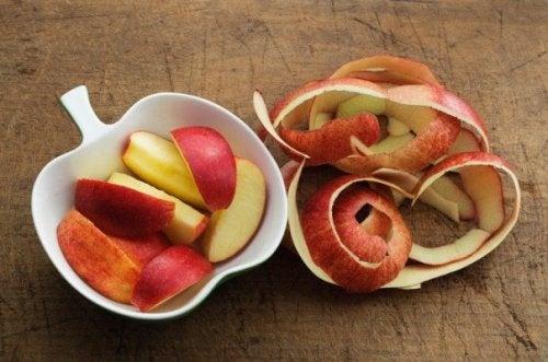 Apfelschale zum Abnehmen