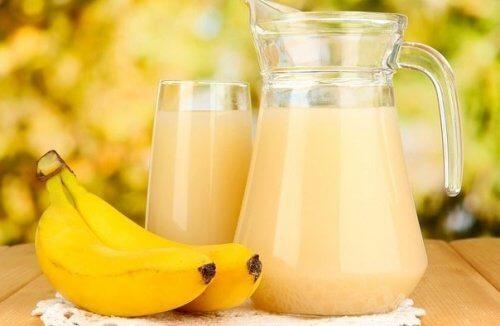 Bananen-Kartoffel-Saft zur Behandlung von Magengeschwüren