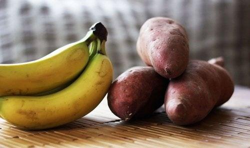 Bananen und Kartoffeln gegen Magengeschwüre