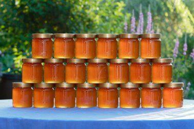 Honig aufbewahren