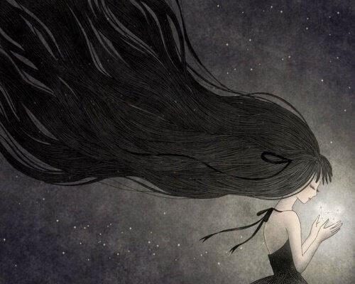 Lichtblick der aus einer Depression hilft