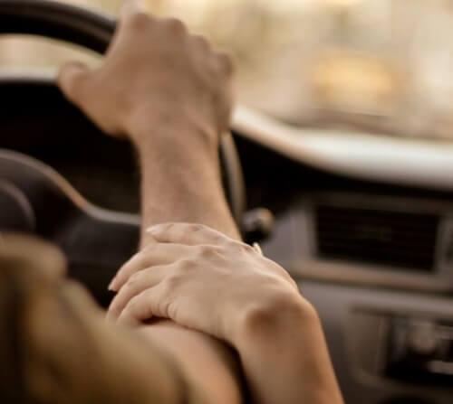 Liebe und Berührung