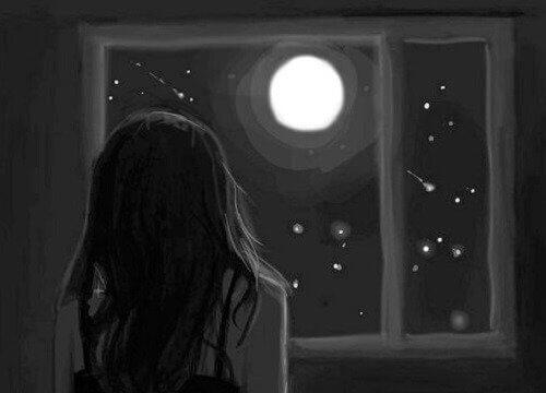 Vollmond und Depression