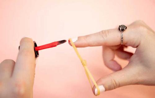 Nägel-Gummiring