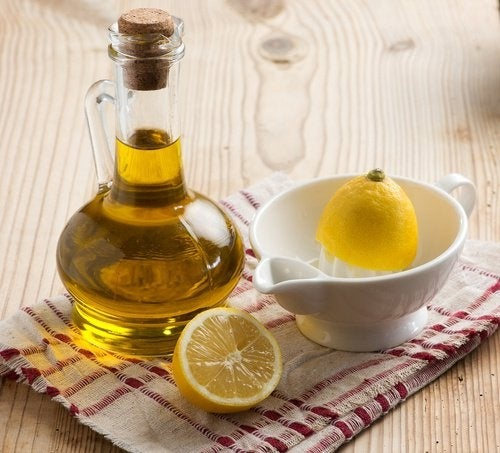 Olivenöl-Zitrone