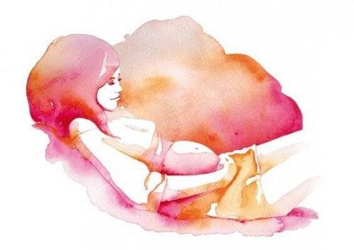 Schwangerschaft: wunderbare Verbindung mit einem Wesen, das wir lieben, aber nicht kennen