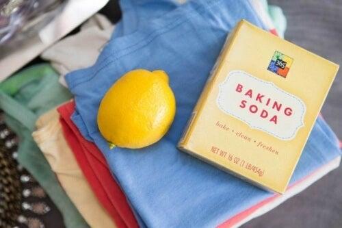 Zitrone Backpulver