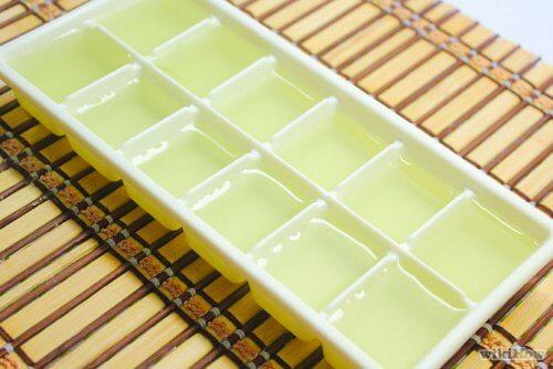 Aloe-Gel einfrieren und später verwenden