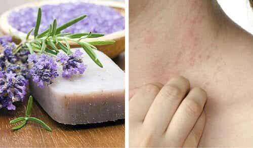 Hausgemachte Seife für sensible Haut oder bei Dermatitis