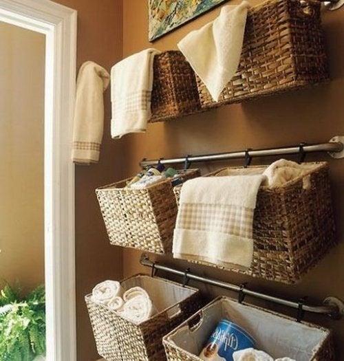 badezimmer aufbewahrung körbe: bad aufbewahrung spuersinn. ideen, Badezimmer