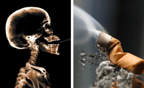 Tabak kann Krebs beeinflussen