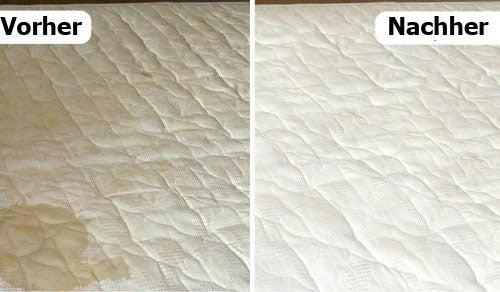 Matratze reinigen und Gerüche natürlich entfernen — Besser ...