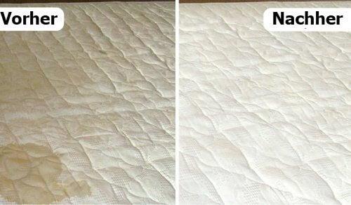 Matratze reinigen und Gerüche natürlich entfernen - Besser Gesund ...