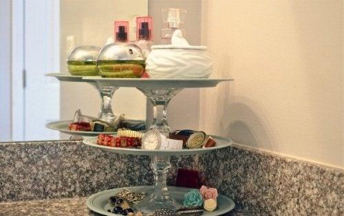 Parfums Und Accesoires Im Badezimmer