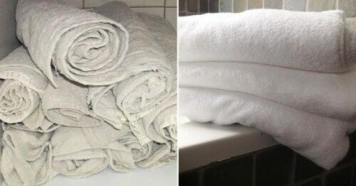 Ein effektiver Trick, mit dem du deine Handtücher wie neu werden lässt