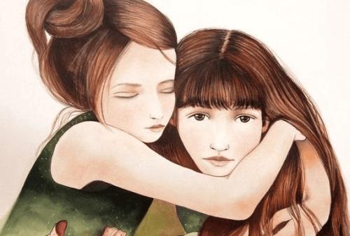 Eine Schwester ist nicht bloß eine Freundin, sie ist unsere Seelenverwandte
