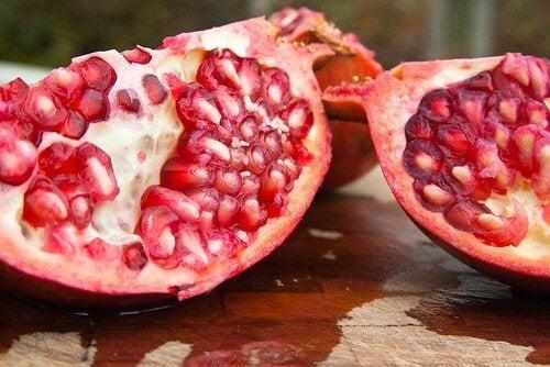 Granatapfel bei Blutarmut