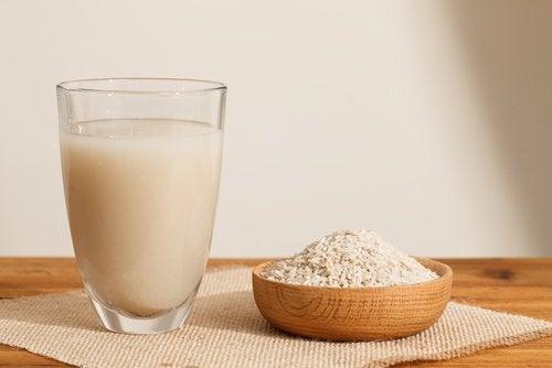Herstellung von Reiswasser