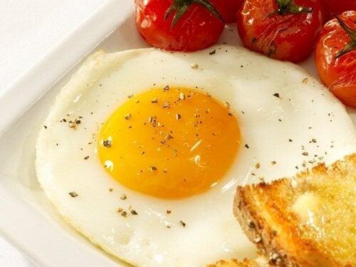 Eier bei Blutarmut konsumieren