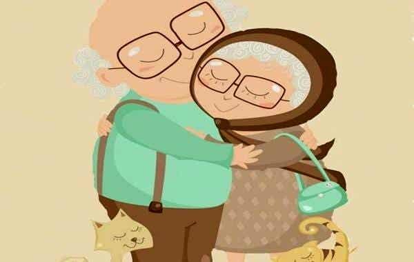 Liebe kennt kein Alter, keine Falten und keine Zeit