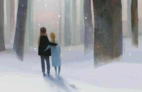 Liebe Spaziergang