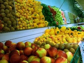 Obst und Gemüse enthalten natürlichen Zucker